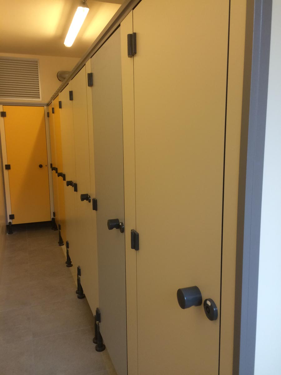 Sanitair - scholen - Sint Romboutscollege Mechelen